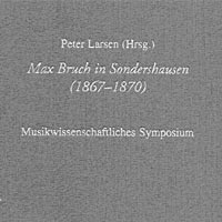Buch-Cover Max Bruch in Sondershausen (1867-1870)